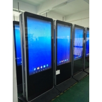 "Quality Double side Advertising Digital Signage Kiosk 55"" Screens Customized bank digital signage for sale"