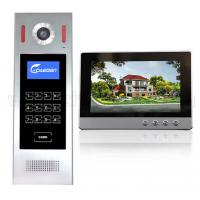 Quality For Building Touch Screen Sip Wires Video Door Phone Digital 4+2 wire video intercom system home security for sale