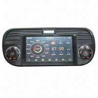 Quality FIAT500 Autoradio Car DVD Player with Nice Picture OSD and 3D Menu Function for sale
