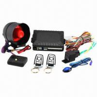 China 2012 Multifunction Car Alarm/Car Security System, Various Remotes are Available  on sale