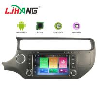 Quality KIA RIO 8.0 Android Car DVD Player With Audio Video 3G 4G SWC for sale
