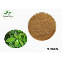Quality Natural Derris Root Extract Rotenone Powder 40% Rotenone Bio Insecticide for sale