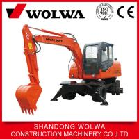 Best lowest price high quality 8 ton wheeled hydraulic excavator DLS890-9A wholesale