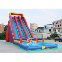 China 10m high giant inflatable water slide for adults made of heavy duty pvc tarpaulin from China inflatable factory on sale