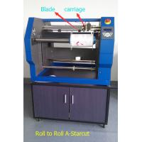 Quality Roll to Roll Label Digital Cutter Using Blade to Cut Labels from Paper Sticker for sale