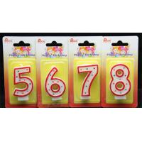 Quality Best-sellingdot number birthday candle for sale