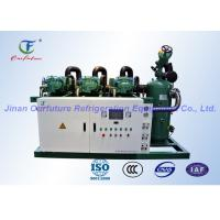 Quality Bitzer Screw Compressor Unit R404a Refrigerant / refrigeration unit for sale