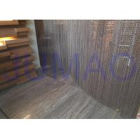 Quality Aluminum Alloy Hanging Chain Room DividersEasy Installed For Dubai Hotel / Spa for sale