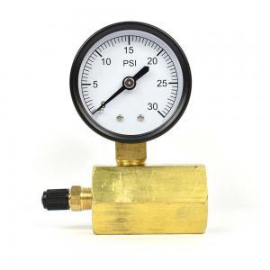 Quality 50mm 0~200psi 0~14bar Pool Filter Water Pressure Dial Hydraulic Pressure Gauge Meter Manometer for sale