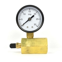 Buy cheap 0-16Mpa Water Pressure Gauge Meter Metal For Heaters And Purifiers from wholesalers