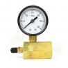 Buy cheap 50mm 0~200psi 0~14bar Pool Filter Water Pressure Dial Hydraulic Pressure Gauge from wholesalers