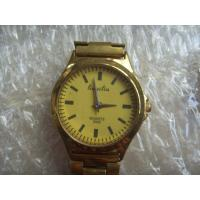 Best Men Business Type Gold Stainless Steel Band Metal Wrist Watch wholesale