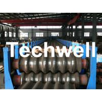 Quality Galvanized Plate / Steel Corrugated Sheet Roll Forming Machine for For Wall Panel for sale