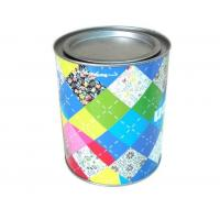 Quality Wholesale promotional round coffee tin with lever lid for sale