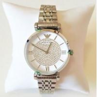 Buy cheap Wholesale Emporio Armani Women New Watch Silver White Dial Genuine Retro Classic from wholesalers