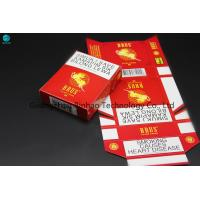 Buy cheap Ivory Paper Custom Cigarette Case , 25 Pcs Tobacco Packaging King Size from wholesalers