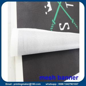 Quality Custom Size 350G PVC Vinyl Mesh Banners for sale