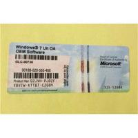 Best Windows Product Key Sticker For Windows 7 Ultimate OEM Software , Russian Language wholesale