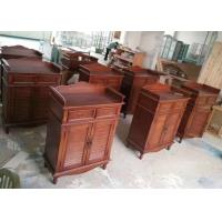 Best Antique Hotel Bedroom Furniture Wooden Vintage Bedroom Cabinet / Living Room Locker wholesale
