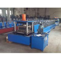 Buy cheap Fully Automatic Metal Shelf Panel Roll Forming Machine from wholesalers