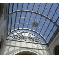Quality Heatproof tinted laminated glass skylight solar reflective double glazing insulated glass for sale