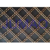 Quality Double Wire Decorative Wire Mesh Cabinet DoorsHigh Transparency Wire Mesh for sale
