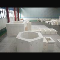 Quality Refractory AZS blocks for glass furnace with high quanlity made in China for sale