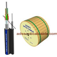 Quality Outside 24 48 Core Figure 8 Fiber Optic Cable Central Loose Tube G657 G652 for sale