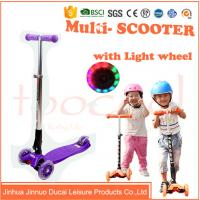 Quality chinese 4 wheel kids children micro maxi plastic scooter for sale