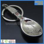 Quality Factory direct sale tourist souvenir gift DUBAI Burj Al Arab metal keychain opener for sale