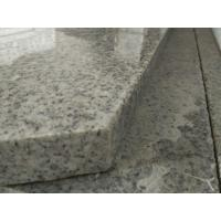 Quality Light Grey Stone Stair Treads And Risers , 7.5 Hardness Granite Stone Stairs for sale