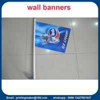 Quality Double Sided Printed PVC Shop Front Flags for sale