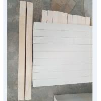 Quality Fefractories fused cast AZS used recycling blocks for glass furnace for sale