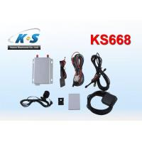 Quality Vehicle GPS Tracker With RS232 Port Work With RFID Reader Monitor in Realtime for sale