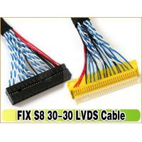 Best LVDS Cable FIX-30P-S8 1.0mm Pitch 30-Pins Dual 8-bit for LCD Controller to Panel wholesale