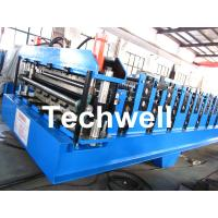 Quality Double Layer Roll Forming Machine For Roofing Sheet Forming Machine With Hydraulic Cutting for sale