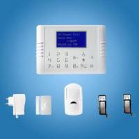Quality Quad Band GSM + PSTN Dual Network Touch Keypad Wireless Home Burglar Alarm System with CE for sale