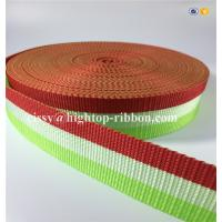 PP woven webbing for bags,woven colored pp webbing for shoulder bag,hight quality,refelective,stock webbing