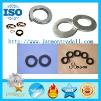 Buy cheap Black/Zinc Plated Spring Washer,Black flat washer,Zinc plated flat washer,Spring from wholesalers
