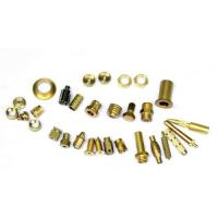 Quality Mirror Polished Brass Electrical Parts , Brass Machined Parts ISO9001 for sale