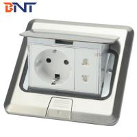 China Stainless steel  with EU power plug floor pop up socket on sale