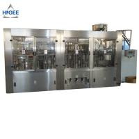 Quality 200ml 500ml Automatic Water Bottle Filling Machine 3 In 1 PE PET Bottle Typ for sale