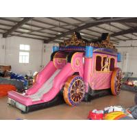 Quality Inflatable Princess Carriage Coach Combo for sale