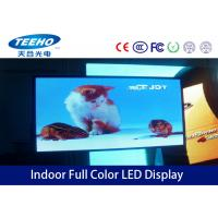 Best Custom Large Full Color Indoor Advertising LED Display Screen PH 6mm , 1R1G1B / SMD3528 wholesale