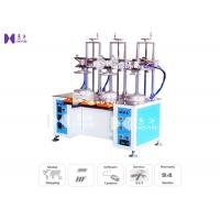Quality Transparent Cylinder Edge Beading Machine For PVC Tube Edge Curling 3 Curl Heads 8S / PCS for sale