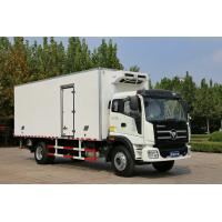China 8 Ton / 10 Ton FOTON Refrigerated Truck Box Freezer Van With Lifting Plate on sale