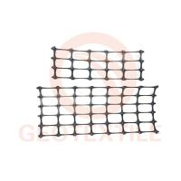 Quality Tear Resistant Black Poly Geogrid , Durable Geogrids In Pavement Construction for sale