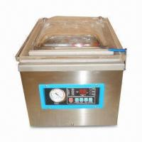 Quality Vacuum Packing Machine with Stainless Steel Vacuum Chamber, 10 to 25-second Cycle Time for sale
