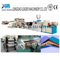 Quality PVC decoration advertising foam board extrusion line for sale