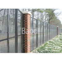 Best Welded Steel Anti Climb Mesh Fence Easily Assembled With Post / Low Carbon Wire wholesale
